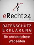 eRecht24-Siegel Datenschutz